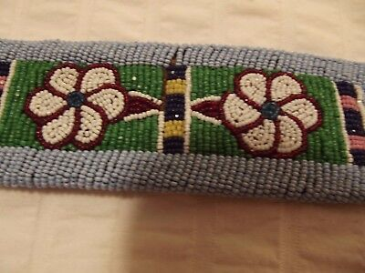 11. Plateau Beaded Belt And Drop. Early 1900S.