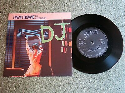 DAVID BOWIE DJ Ireland RCA 7-inch Lifetimes Solid centre BOW 516!