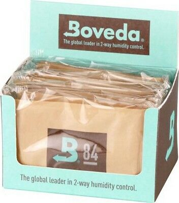"12 x Boveda Humidipak 2-way Humidifer groß ""84"" Befeuchtung zwischen 79-84%"