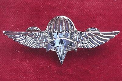 Police Of Serbia - Special Antiterrorist Unit Parachuters Breast Badge 3