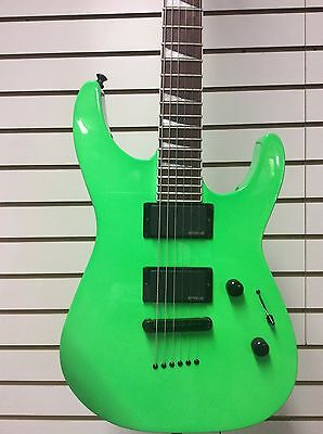 Jackson SLXT Solist Kawasabi Green with gig bag