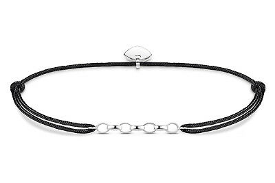 THOMAS SABO Schmuck Charm-Armband Little Secret Schwarz LS050-173-11-L20v