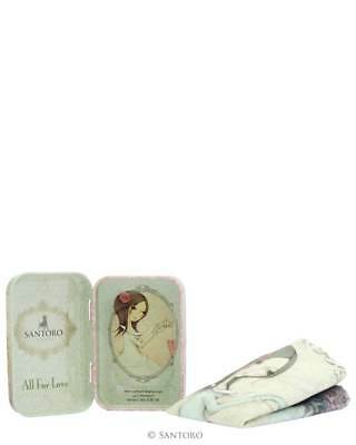 Santoro Mirabelle - Tin Can with Microfiber Cloth - All For Love