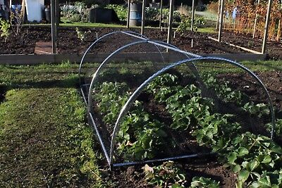 Portable Domed Garden Fruit Vegetable Cage Protection  0.68m High x 1.2m Wide