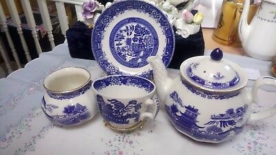 Rington Willow Blue And White - Tea For Two