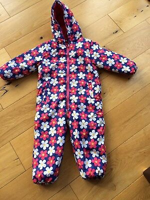 Girls Snow Suit 3-4 Years Excellent Condition