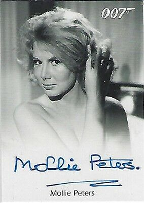 Mollie Peters Autograph as Patricia Fearing in Thunderball, James Bond 007