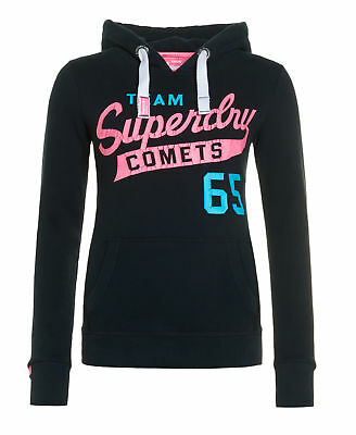 New Womens Superdry Team Comets Entry Ho Eclipse Navy