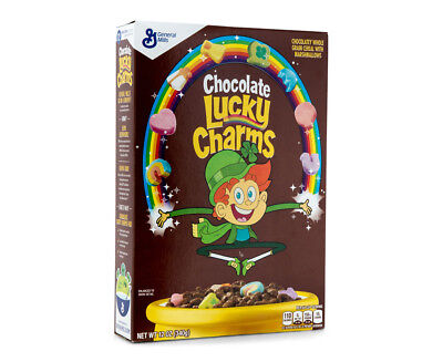General Mills Chocolate Lucky Charms 340g