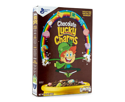 General Mills Chocolate Lucky Charms Cereal 340g