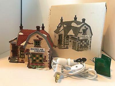 Dept 56 Dickens Heritage Village Collection Booter and Cobbler House