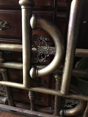 Antique Brass Bed sz Full