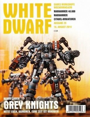 White Dwarf 29 August 2014 (German) by the 16 August 2014 Games Workshop