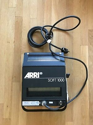 arri soft 1000w tungsten light, softbox, new never used