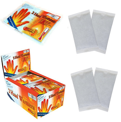 2 Pair Hand Warmer Pads Heating Hand Warmers Outdoor Glove Pockets Warmer Pads