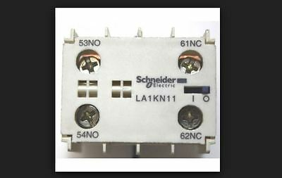 Schneider La1Kn11 Auxiliary Contact Block 1No+1Nc Screw Clamps
