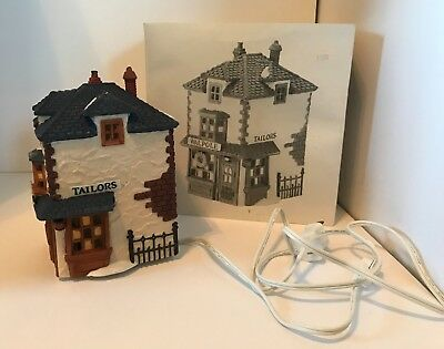 Dept 56 Dickens Heritage Village Collection The Tailors House