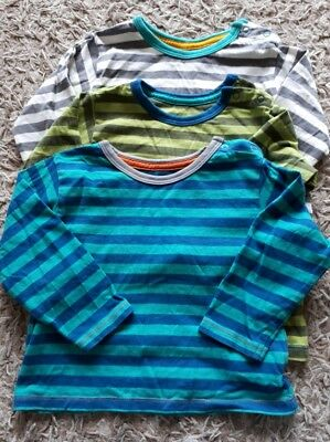 Baby boy set of 3 M&S striped tops 12-18 months
