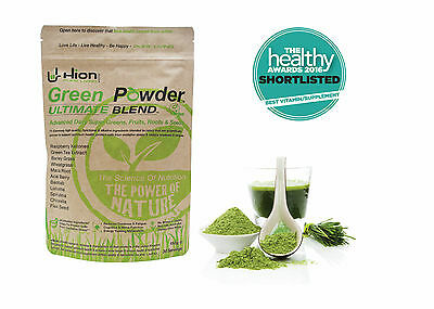 £6.00 OFF RRP!! Hion Green Powder Ultimate Blend - Fresh from the manufacturer.