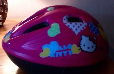 Bike helmet - Hello Kitty - only used a couple of times.
