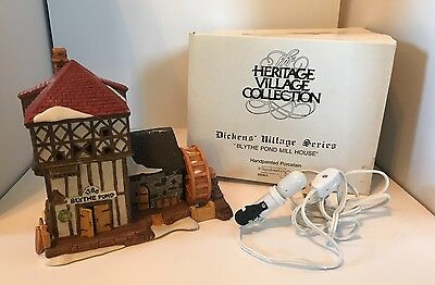 Dept 56 Dickens Heritage Village Collection The 1786 Blythe Pond Mill House