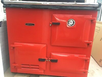 Rayburn Nouvelle Gas Cooker, hot water & Central heating. Nottingham