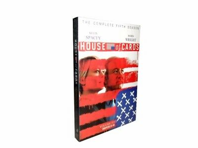House of Cards Season 5(DVD, 4-Disc Set) US Seller