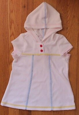 HANNA ANDERSSON White Terry Swimsuit Coverup Dress NWT, Size 70 6-12 Months