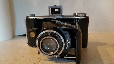 1940's Ensign 420 selfix camera and accessories