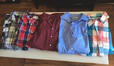 Lot Of Mens XXL Button Downs