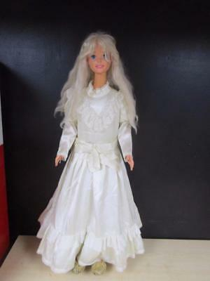 "1992 Mattel My Size/Life Size Barbie Doll 36"" Blonde Hair Blue Eyes 3' FeetTall"