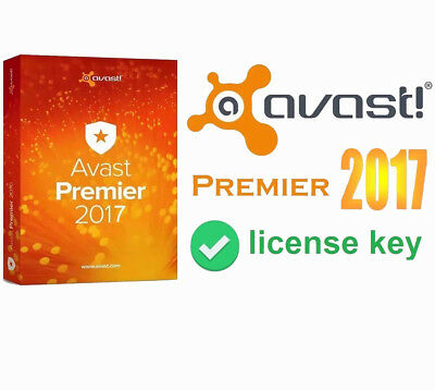 AVAST PREMIER 2017 /5 Years*3 PC/ License file Activation GUARANTEED or REFUND U