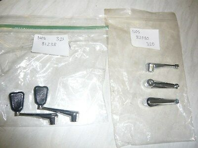 SIX MITCHELL REEL HANDLES, New old stock, as shown in photo`s
