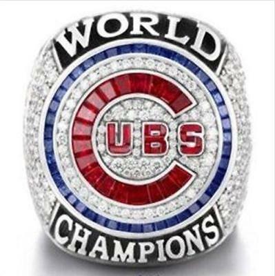 2016 Chicago Cubs World Series Championship Solid Copper Ring 8-14 Size