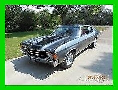1972 Chevrolet Chevelle Restored Hard Top 1972 Chevrolet Chevelle, GM 350 Crate Motor, Turbo 350 Automatic Transmission
