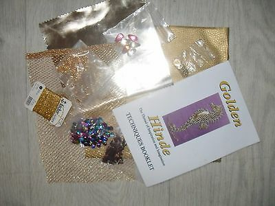 goldwork embroidery bundle project leftovers