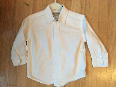 Boys Burberry Shirt -18 Months