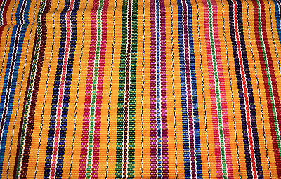Handmade Tapestry - table runner - tortilla wrap from Guatemala multi-colored