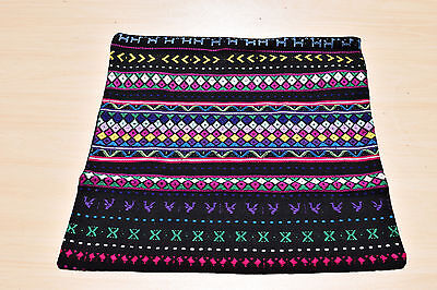 Handmade/handwoven from Guatemala - pillow cover in multi-colors