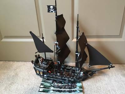 Lego Pirates of the Caribbean The Black Pearl w/instructions