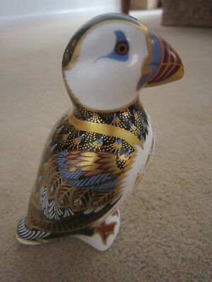 Royal Crown Derby Paperweight - Puffin