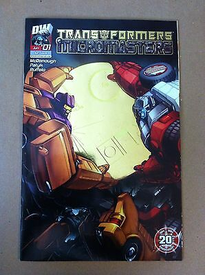 Transformers Micromasters #1 Gold Foil 1:25 Incentive Variant Cover Dw Vf/nm 1St