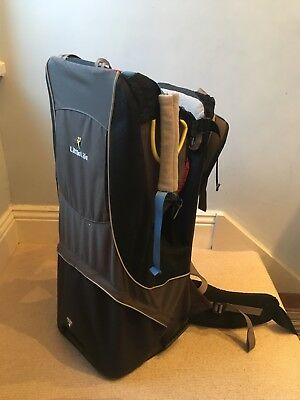 LITTLELIFE LittleLife Cross Country Baby Child Back Carrier Backpack + Sun Shade