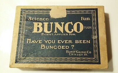 Antique Vtg BUNCO Card Game 114 cards Complete?