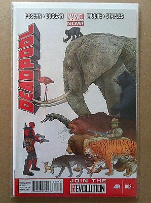 Deadpool V.3 (2012) #2 Regular Geoff Darrow Cover Posehn Duggan Nm 1St Printing