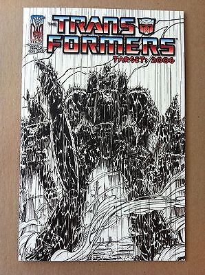 Transformers Target 2006 #1 Nick Roche Ri-A 1:10 Variant Cover Nm 1St Printing