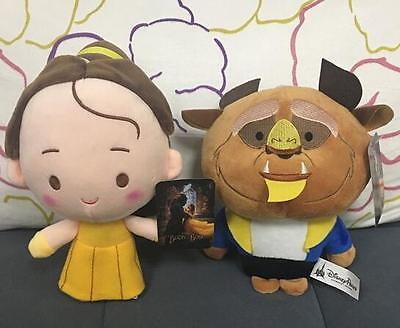 "New Hot 8"" Beauty And The Beast Belle Princess Prince Soft Dolls Plush Toys"