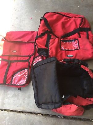 Pizza Delivery Bags Lot Of 4 Fits Up To 18""