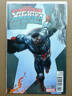 All-New Captain America Special #1 Connecting Variant Inhuman Spider-Man Nm 1St
