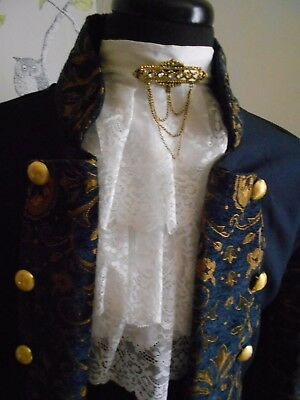 Larp/steampunk/theatre Costume Pirate Style Coat 42.44 Chest